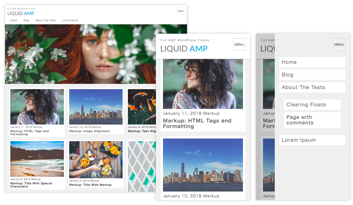WordPress テーマ LIQUID AMP